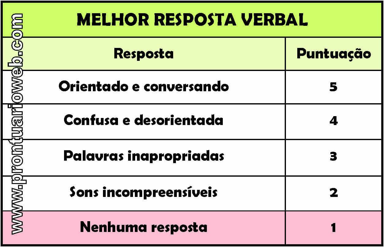 resposta verbal português - prontuarioweb