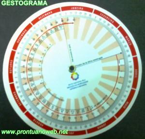 gestograma para edad gestacional