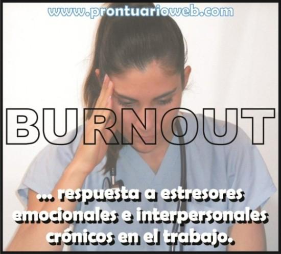 burnout respuesta a estresores - prontuarioweb