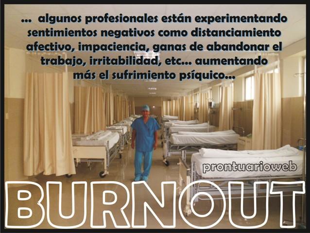 burnout sentimentos negativos - prontuarioweb