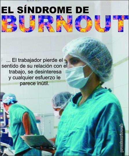 sindrome burnout caratula